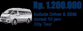 Promo Toyota Hiace Commuter 15 Seat